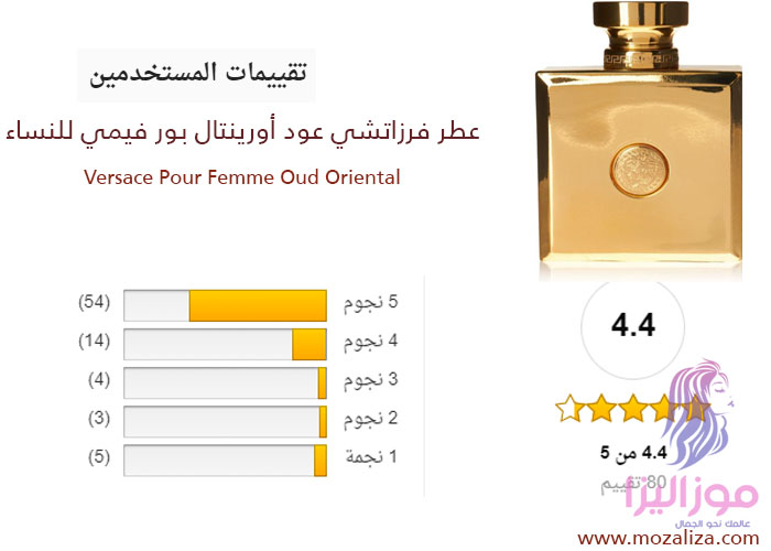 66d874abf عطر فرزاتشي عود أورينتال الذهبي الأصلي للنساء Versace Oud Oriental ...