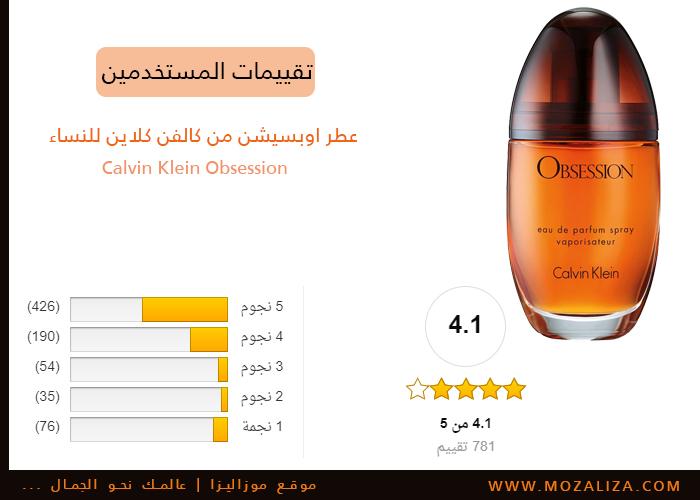2566e5d6c عطر اوبسيشن من كالفن كلاين للنساء Calvin Klein Obsession | موزاليزا