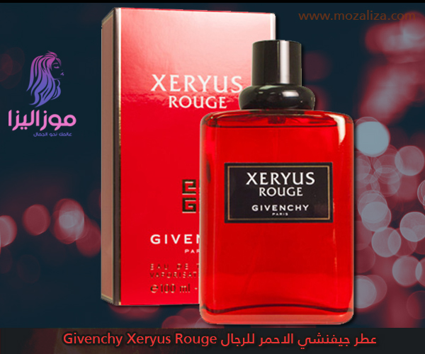 481ea0ee0 عطر جيفنشي الاحمر للرجال Givenchy Xeryus Rouge | موزاليزا
