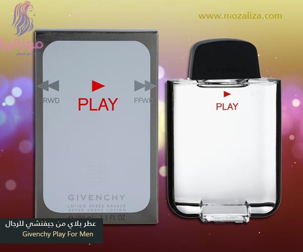 abf3dfea3 عطر جيفنشي بلاي الاصلي للرجال Givenchy Play For Men   موزاليزا