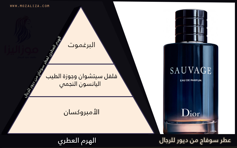bc1259653 عطر سوفاج ديور للرجال Dior Sauvage For Men | موزاليزا