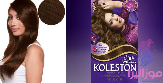 صبغة كوليستون بني شوكولاته أجمل إطلالة للشعر موزاليزا