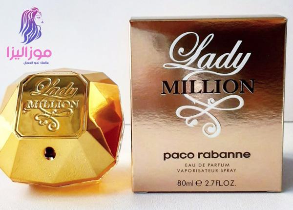 1d5fb9c77 عطر ليدي مليون الذهبي من باكو رابان للنساء Lady Million | موزاليزا